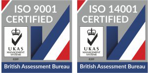 ISO 9001 Certified, ISO 14001 Certified